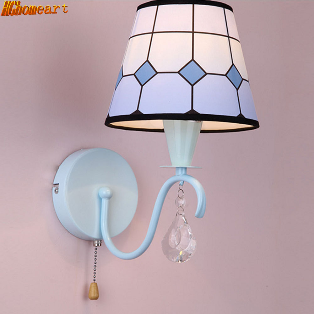 Cartoon Multi-color LED Wall Lamp Boy Girl House Loft Bedroom Lighting Decoration Bedside Eyes Reading Learning Night  Light modern lamp trophy wall lamp wall lamp bed lighting bedside wall lamp