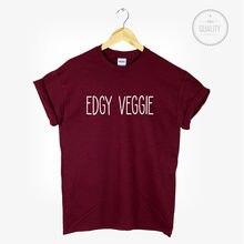 """""""Edgy Veggie"""" women's t-shirt"""