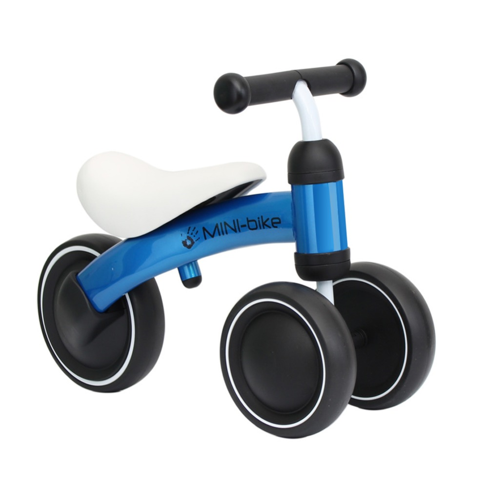 Mibi-Bike 12 Inch Balance Bike Toddler No Pedals For 1 – 5 Year Old, 3 Wheel – Blue, Red, White 2