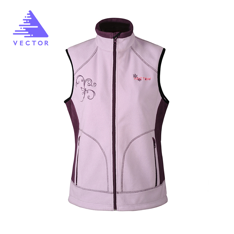 Sleeveless Vest Jacket For Women Warm Windproof Polartec Sport Outdoor Vest For Running  Camping Hiking 90003