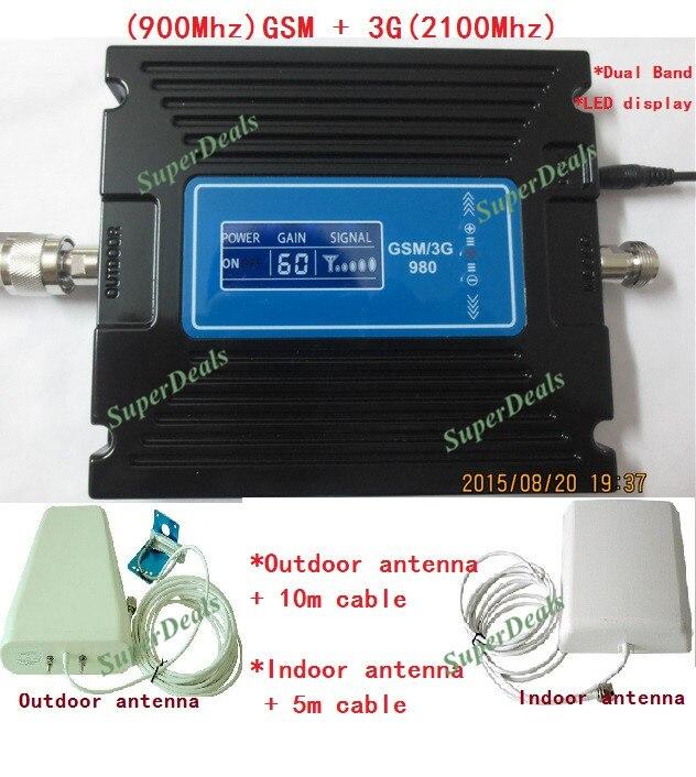 Cellulare ripetitore Del Segnale GSM ripetitore 3g Ripetitore Del Segnale Del Telefono Mobile amplificatore del telefono 900 mhz 2100 mhz repetidor de sinal de celular