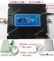 Las más! 1 Unidades 2G 3G LCD amplificador De Señal! GSM 900 3G 2100 Teléfono Móvil Amplificador de Señal GSM Amplificador Repetidor ganancia Ajustable