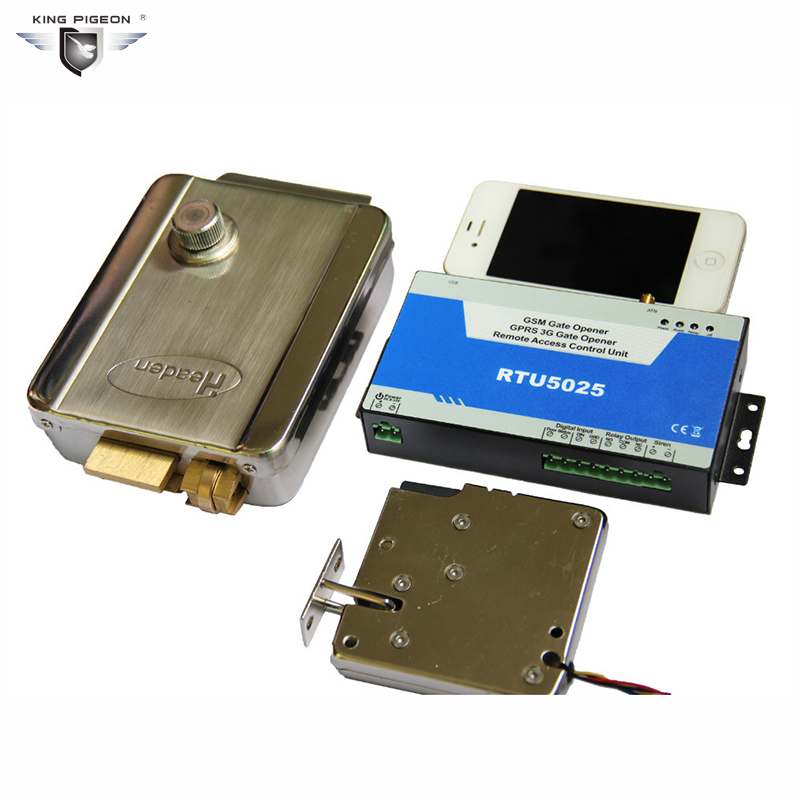 ФОТО 3G GSM Gate Opener Door Opener Cell Switch Remote Switch On Off By Mobile Phone King Pigeon RTU5025