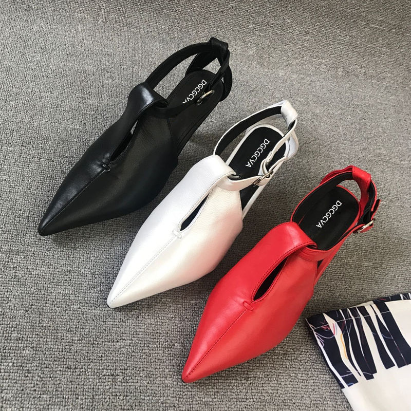 2018 Genunie Leather Shoes Top Womens Pumps Sexy Pointed Toe High Heels Shoes Plus Size 33-40 Womens Shoes 6.5 cm heels2018 Genunie Leather Shoes Top Womens Pumps Sexy Pointed Toe High Heels Shoes Plus Size 33-40 Womens Shoes 6.5 cm heels
