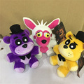 new style wholesale 18cm Official Five Nights At Freddy's 4 FNAF Bonnie Foxy Freddy Fazbear Bear duck Plush Toys Doll