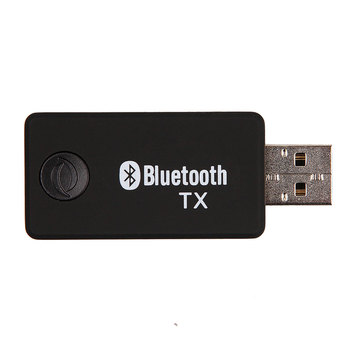 Multi function TV Bluetooth Transmitter Bluetooth Audio Music Transmitter Computer 3.5mm Audio Adapter with USB extender cable
