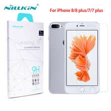 Screen protector For Apple iphone 8/8 Plus for iphone 7/7 plus Nilkin Amazing 9H Nano anti-burst tempered glass protective film