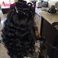 Малайзийский Девы Волос Объемной Волны 3 Связки 8А Класса Девственница Необработанные Человеческие Волосы Rosa Продукты Волос Малайзийских Объемная Волна Пучки