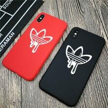 Funda suave de moda de calle para iphone X 11 PRO XS MAX XR 8 7 6 6S plus silicona mate funda de teléfono deportes coque pareja fundas capa
