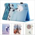 Fashion Flower Tree Owl wallet Card Slot Pu leather stand holder Cover Case for ipad mini for ipad mini 2 for ipad mini 3