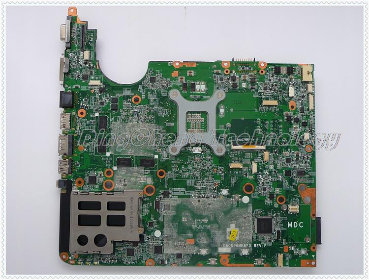 SHELI laptop Motherboard For hp DV7-3000 605699-001 DA0UP6MB6F0 PM55 non-integrated graphics card free shipping 100% tested 605699 001 board for hp pavilion dv7 dv7t dv7 3000 motherboard with gt320m chipset 1gb