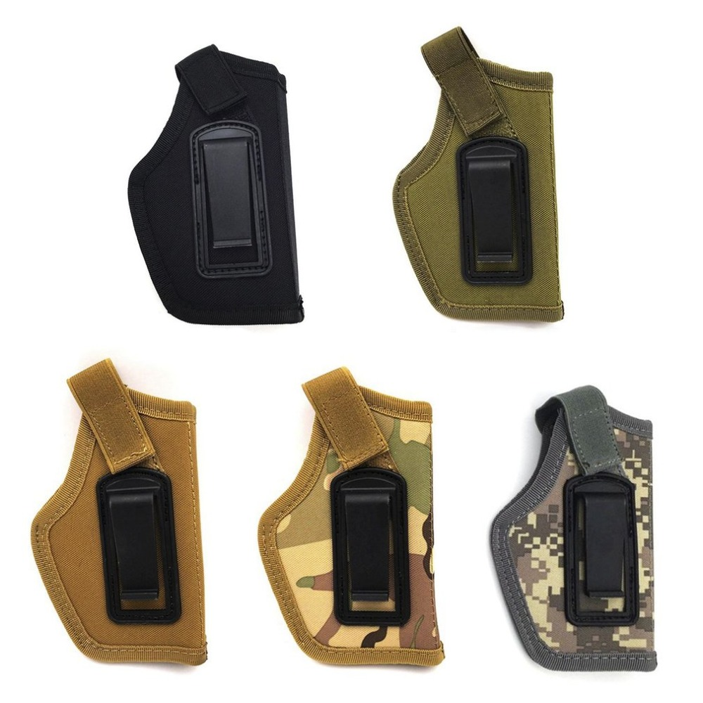 Gun Holster Concealed Carry Holsters Belt Metal Clip Holster Airsoft Gun Bag Hunting Articles For All Sizes Handguns