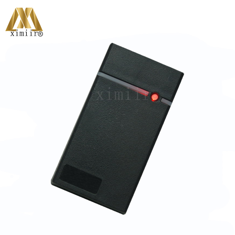 IP65 Waterproof Smart Card Reader 125KHZ RFID Card EM Card Reader Wiegand Access Control Card Reader Mini Access Control Reader weigand reader door access control without software 125khz rfid card metal access control reader with 180 280kg magnetic lock