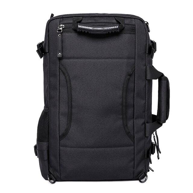MAGIC UNION Multifunctional Backpack For Men 17.3 inch Laptop Bag Large Travel Bagpack 3 in1 Mochila Hombre Shoulder Bag 5