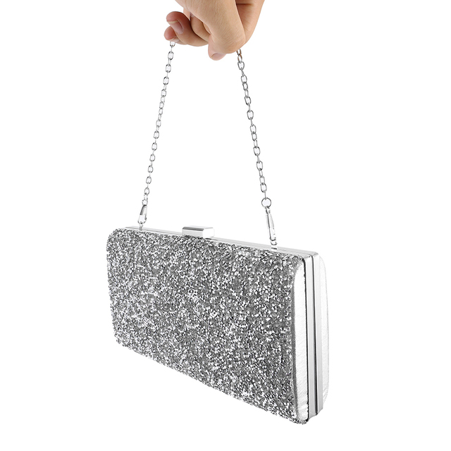 Women Clutch Luxury Bags for Women 2019 Evening Handbag Crystal Day Glitter Wedding Party Banquet Purse 2