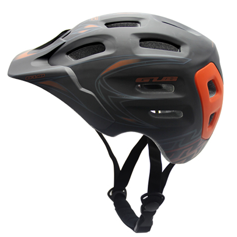 ФОТО GUB Size M/L Downhill Helmet XC Trail Enduro Helmet Shaped Multi Density EPS Foam Ultralight Trail Riding Helmet For Endurance