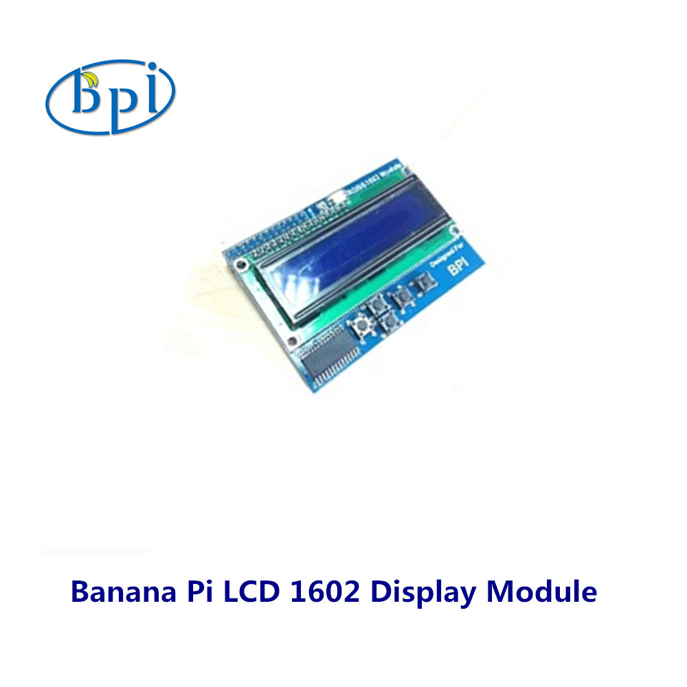 Buy Bpi Lcd 162 Display Module For Banana Pi Board Wiringpi I2c From Reliable Suppliers On Sinovoip Colimited