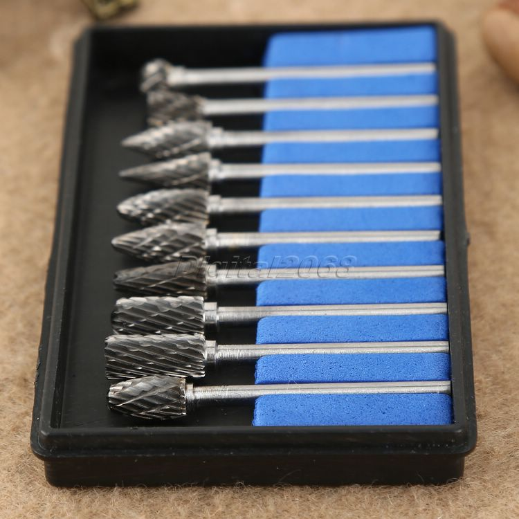 Frese in metallo duro integrale per utensili rotativi Dremel, - Utensili abrasivi - Fotografia 6