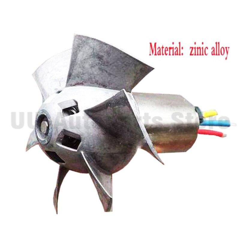 Voiture universelle Turbine électrique puissance Turbo chargeur Tan Boost ventilateur d'admission d'air 12V - 3