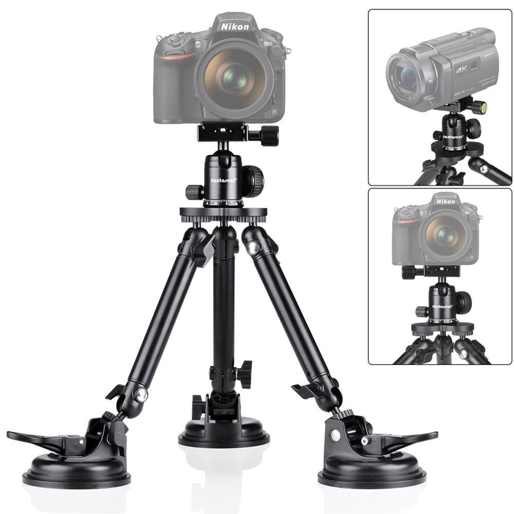Voiture ventouse support de montage caméra DV DVR support pour véhicule 360 degrés Panorama tête de boule pour DSLR Sports Mirrorless support de caméra