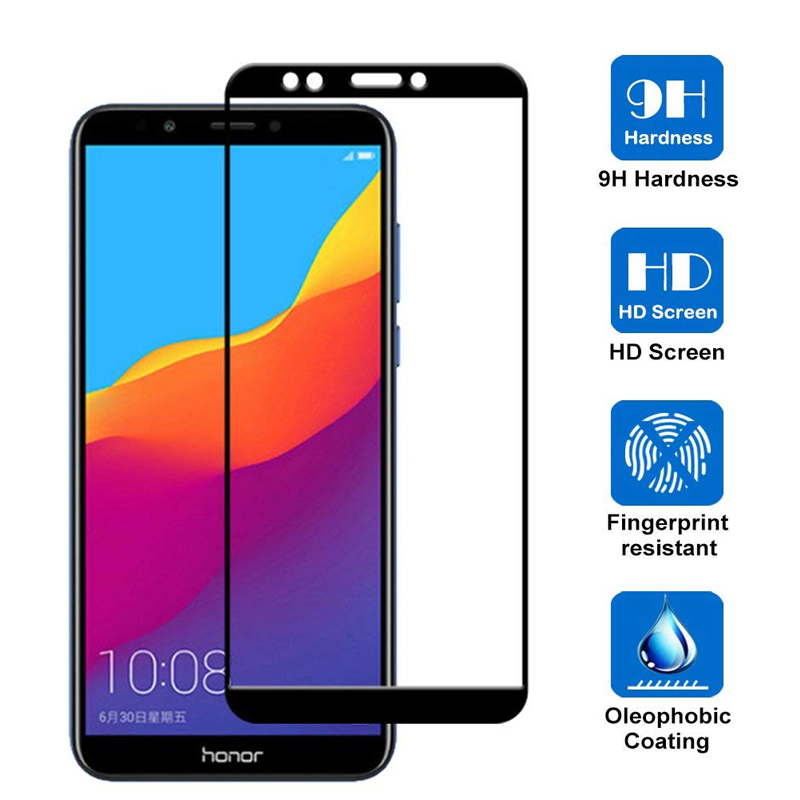 Image 5 - Protective Glass on Honor 7A Tempered Glass For Huawei Honor 7A Pro 7C 7X Honer A7 Honor7a Dua L22 Films Safety Screen Protector-in Phone Screen Protectors from Cellphones & Telecommunications