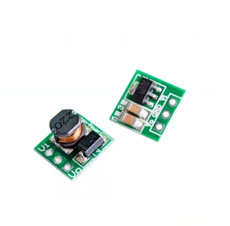 5 pçs/lote 0.9-5V Para 5V DC-DC Placa Step-Up Módulo De Potência do Conversor Boost de Tensão 1.5V 1.8V 2.5V 3V 3.3V 3.7V 4.2V Para 5V
