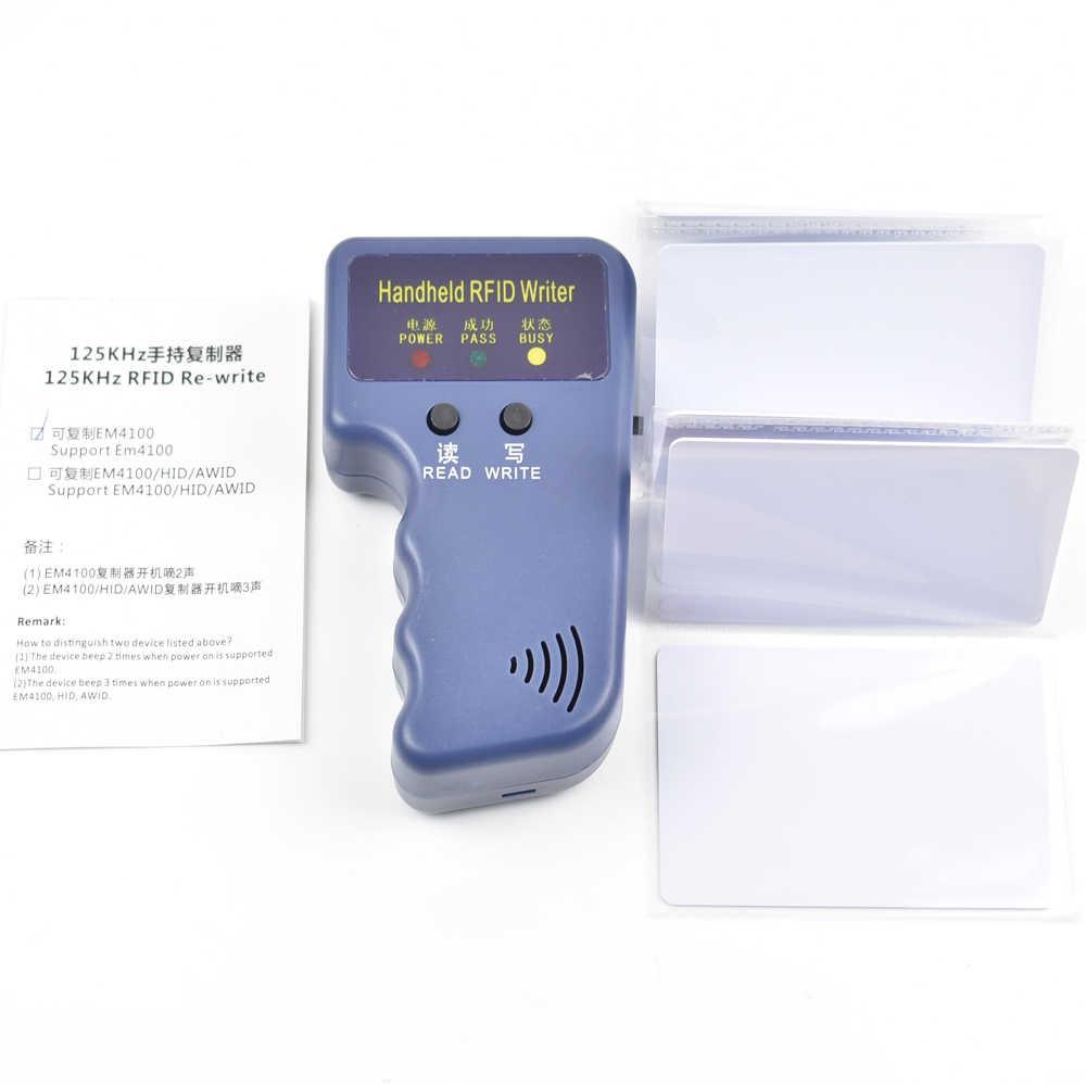 RFID Copier Duplicator Cloner ID EM reader & writer + 5pcs