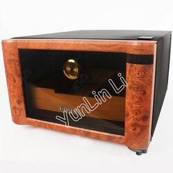 Mini cygaro szafka z wilgotnością 23L elektryczny termostatyczne i stała wilgotność cygaro szafka do przechowywania SC-08B