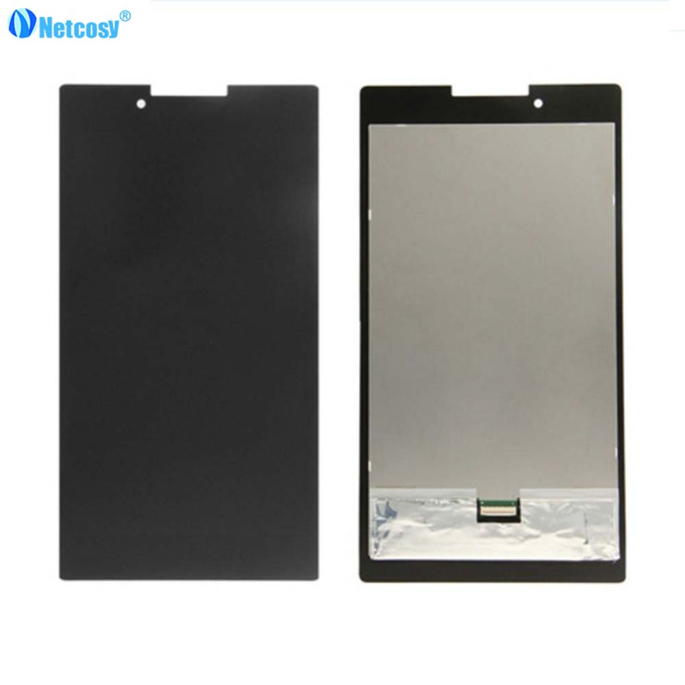 Netcosy Black LCD Display Full screen For Lenovo Tab 2 A7 A7-30 Touch Screen Assembly For Lenovo A7-30 7inch LCD screen наклейки brother dk44605 62мм клеящаяся желтый