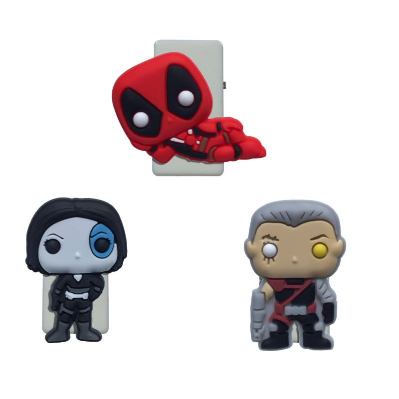1pcs Deadpool Paper Clips Binding Supplies Bookmarks For Books DIY Binder Clips For Notes Memo Stationery Kids Xmas Gift