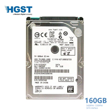 "HGST marka Laptop PC 2.5 ""160 GB Sata 1.5 Gb/s-3.0Gb/s Notebook dysk twardy HDD 2 mb/ 8 mb 5400 RPM-7200 RPM(China)"