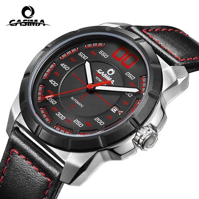 2018 CASIMA nouvelle marque de luxe automatique mécanique hommes montre montre homme Sport étanche homme montre relojs erkek kol saati