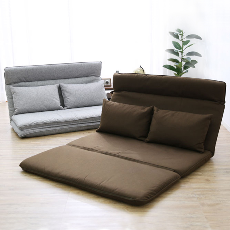 Adjustable Folding Floor Leisure Sofa Bed Video Gaming Sofa Couch Home Living Room Furniture Chaise Lounge Convertible Sleeper