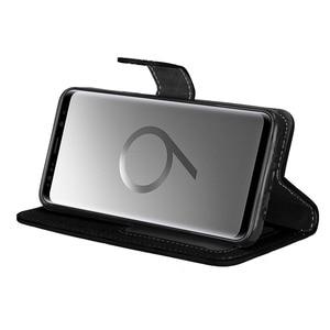 Чехол для Samsung Galaxy S9 S3 S4 S5 S6 S7 S8, Винтажный чехол-кошелек из силикона и ТПУ, искусственная кожа, откидная сумка для телефона, чехлы для Samsung S9