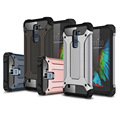 Top Quality 2in 1 TPU+PC Hard Hybrid Heavy Duty Armor Rugged Shock Proof Housing Phone Mate Case Cover Bag Shell For LG K8 K10