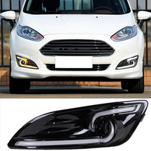 Daytime Running Light  For Ford Fiesta 2013 2014 With Turning Light & Dimmer Function Quality Assured Brand New Fast Delivery