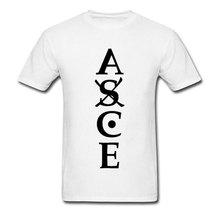 цены на ASCE T-shirt Men Ace Tattoo Print T Shirt 2019 Pirate King One Piece Tops Anime Figure Tees Letter Black White Tshirt Fans Shirt в интернет-магазинах