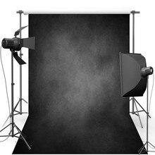 Fotografia vinil pano de Fundo Do Vintage Novo Tecido de Flanela Pano de Fundo Retro Parede de Concreto Cinza Escuro para estúdio de fotografia 775