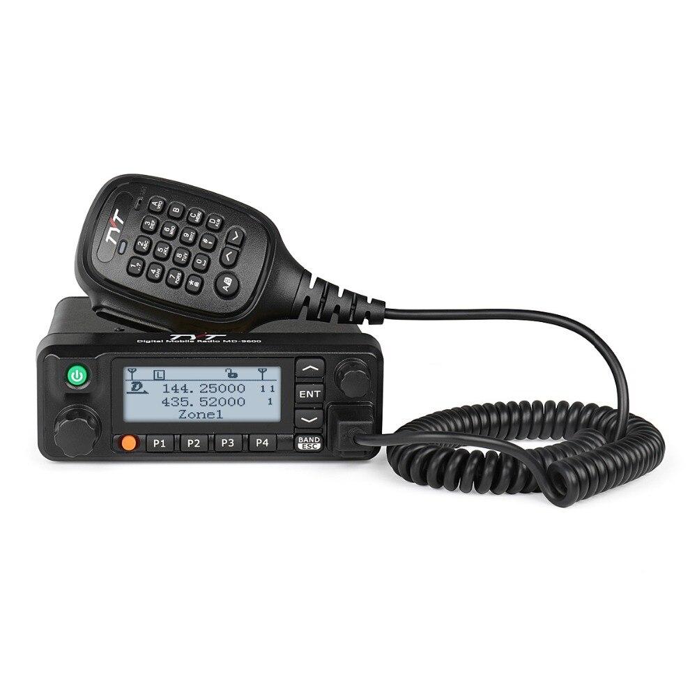 TYT MD-9600 Dual Band DMR Mobile Auto Camion Transceiver 136-174/400-480 mhz 3000 CH 50/45 /25 w Ham Amateur Radio cavo di Programmazione