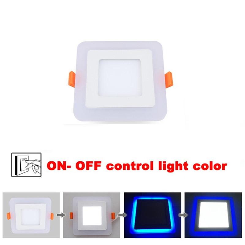 Dual Color Panel Downlight