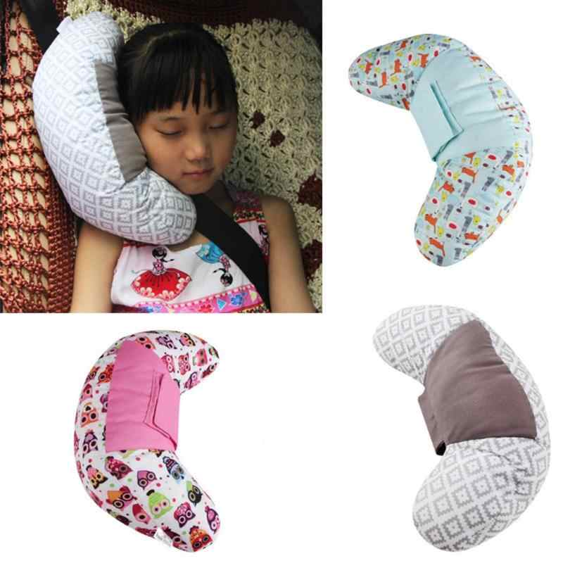 Children Car Styling Neck Rest Headrest Cushion Car Seat Belts Pillow For Kids Shoulder Safety Strap Protection Pads Support