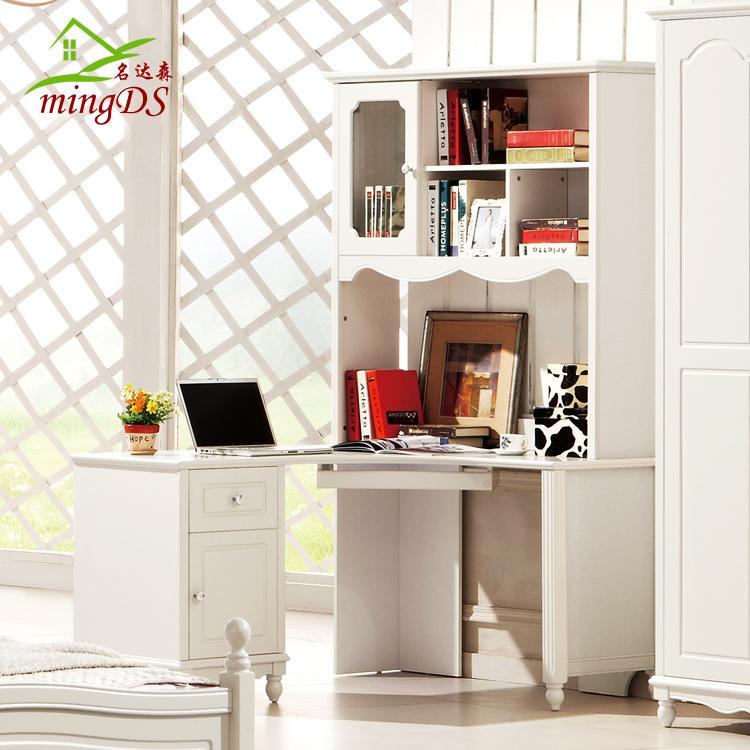 Beau Idyllic White Furniture Corner Desk Combination Bookcase Children Desks  Wood Siamese Desk Cabinet In Children Furniture Sets From Furniture On ...