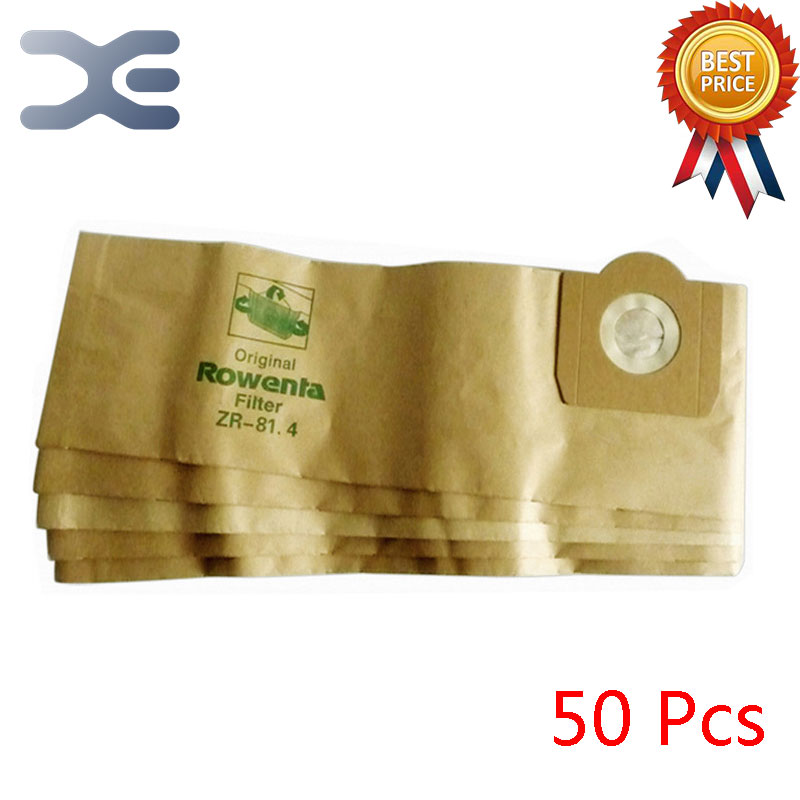 50Pcs High Quality Vacuum Cleaner Accessories Dust Bag Dust Garbage Paper Bag ZR814 / RU100 / RB880 / 820 50pcs high quality vacuum cleaner accessories dust bag dust garbage paper bag zr814 ru100 rb880 820