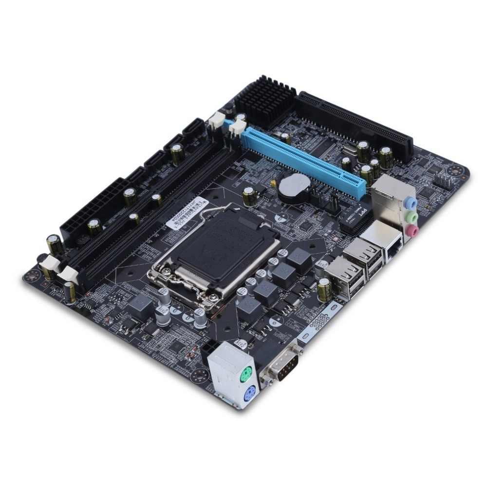 אינטל P55 6 ערוץ Mainboard האם ביצועים גבוהים מחשב שולחני Mainboard מעבד ממשק Lga 1156