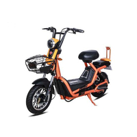 Electric Scooter 450W 48V 14 iNCH Electric Motorcycles Citycoco Electric Bike Hot Sale Ebike Storage Battery
