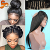 8A Pre Plucked 360 Lace Frontal Closure Brazilian Straight 360 Lace Frontals Natural Hairline Lace Band Frontals With Baby Hair