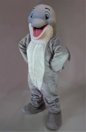 mascot fericit Dolphin Mascot Costum personalizat costum fantezie - Costume carnaval - Fotografie 1
