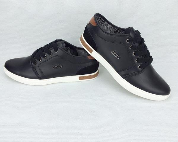 Zapatos negros casual para hombre kYtK2bz8