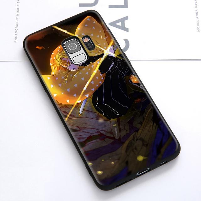 Demon Slayer Kimetsu no Yaiba Soft Case Cover for Samsung Galaxy S Series