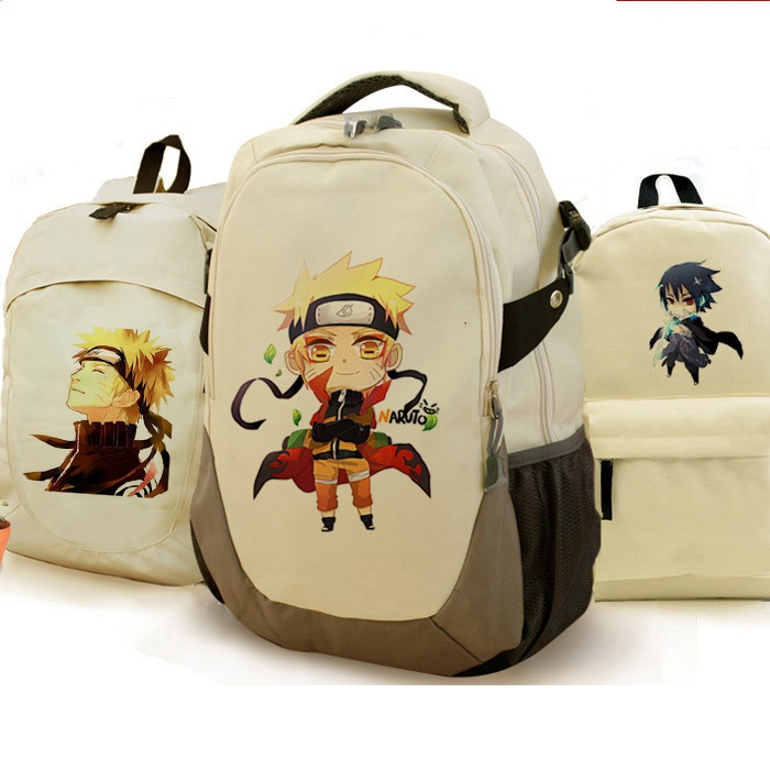Anime naruto backpack printing COSPLAY good quality backpack student fans birthday gifts school backpack